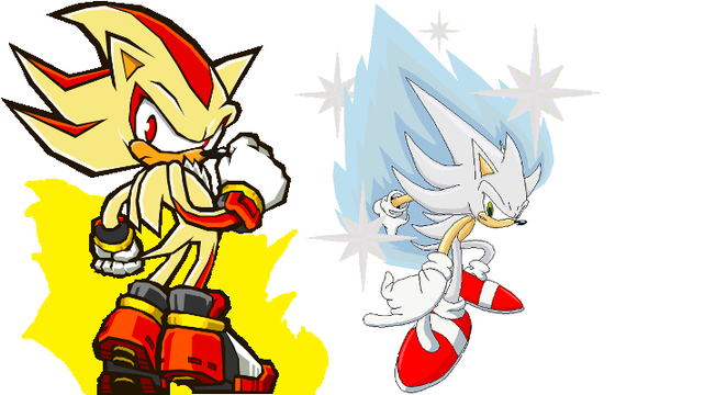 Hyper Sonic and Shadow