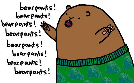 Make them bears dance