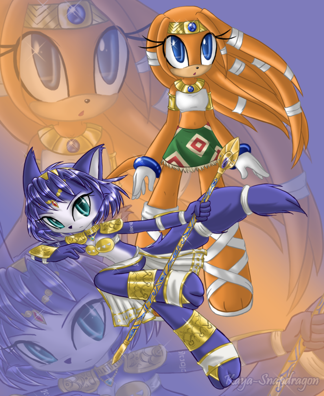Tikal the Echidna & Kystal the Fox from Amethyst10 - hosted by ...