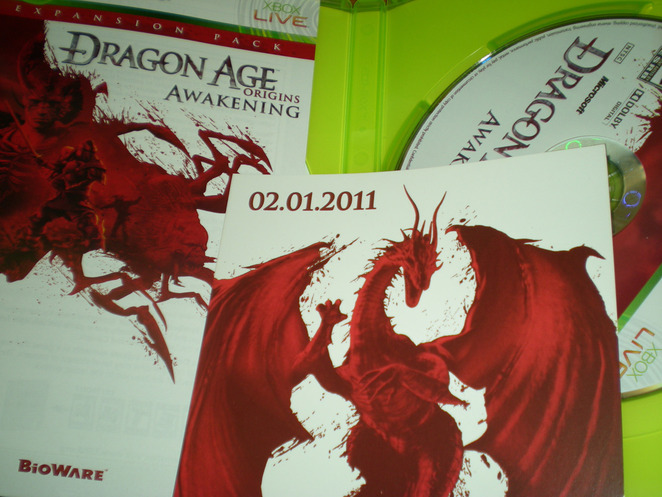Dragon Age: Origins - Awakening mystery card