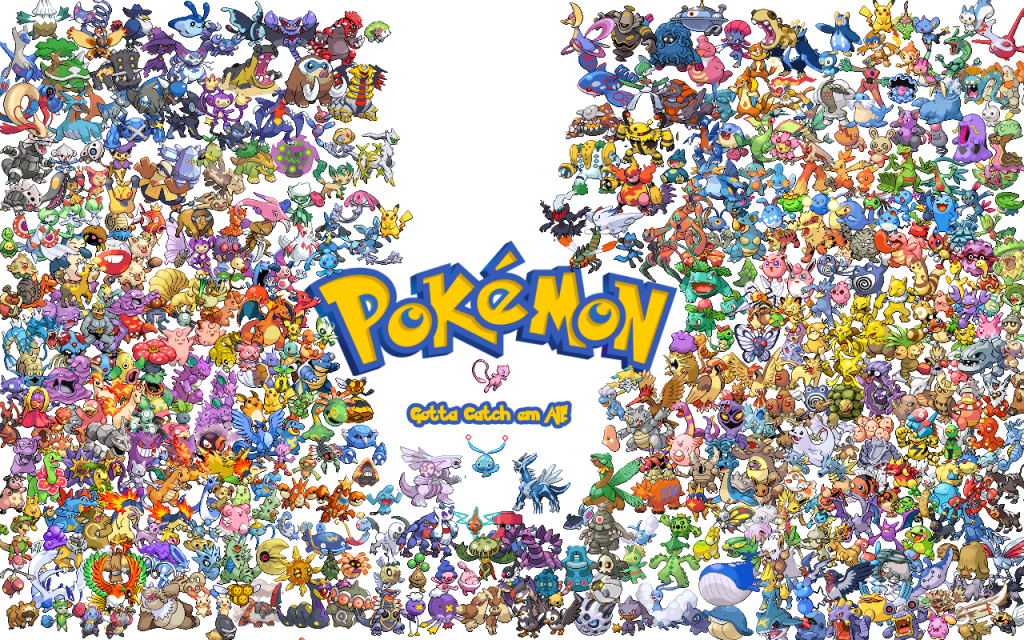 All 493 of them, Pokedex order. from Lil J - hosted by