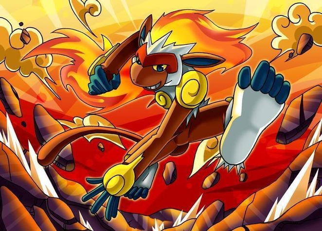 infernape from spaf289 hosted by neoseeker