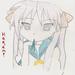 Kagami always looks upset. That's okay~