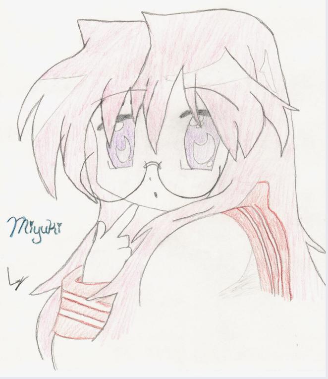 I love Miyuki! ^-^ She's so fun~