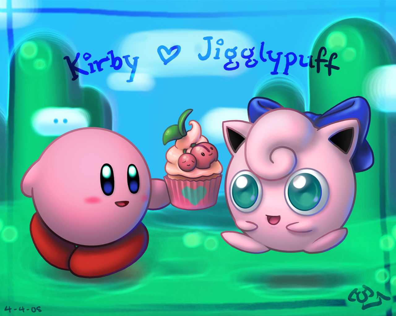 Kirby And Jigglypuff From Bubby68 Hosted By Neoseeker
