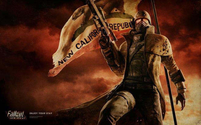 Fallout NV wall