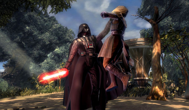 Force Unleashed / Vader vs Kento