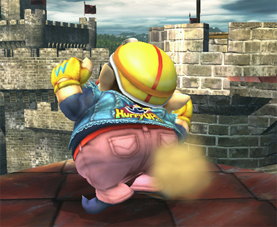 Wario in Smash Bros. Brawl
