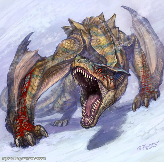 Enraged Tigrex From Mhdude Hosted By Neoseeker
