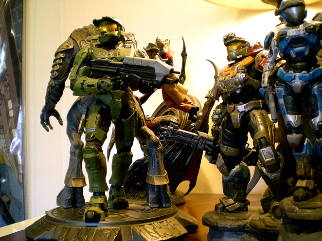 Spartans and an Arbiter