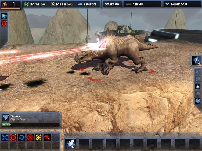 Supreme Commander 2 - Dinosaur
