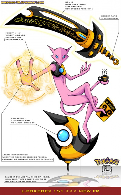 Mew from swampertlover hosted by neoseeker - Pokemon miu two ...