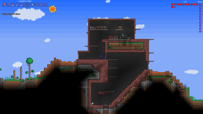 My Hellstone Brick Mining Base