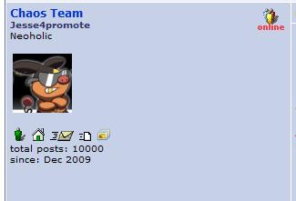 10000 posts woooo