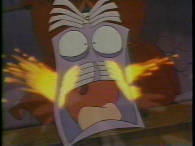 The AC goes ballistic (The Brave Little Toaster)