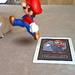 Mario Kicking my Cat. :\