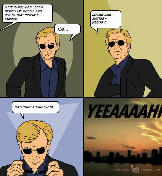Matt Hardy Suicide ---- CSI