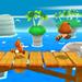 Tanooki Mario with some Tanooki Goombas