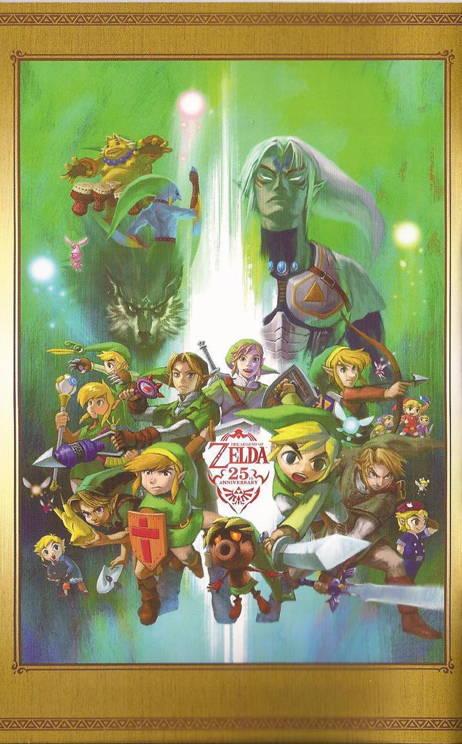 Zelda 25th anniversary poster
