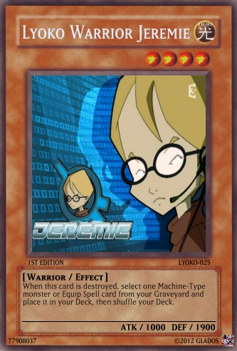Lyoko Warrior Jeremie