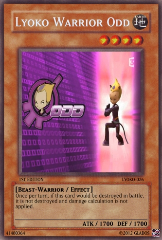Lyoko Warrior Odd