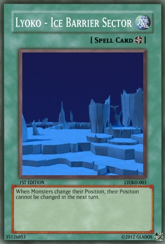 Lyoko - Ice Barrier Sector