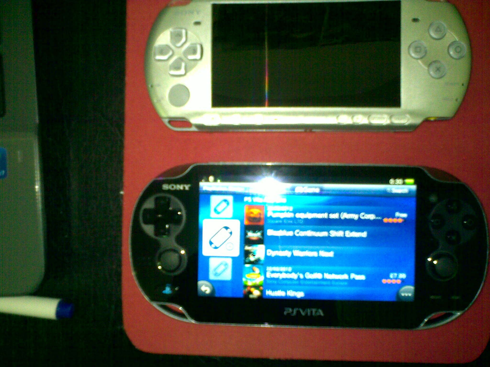 Playstation Vita Vs Psp : Ps vita vs psp from thm hosted by neoseeker