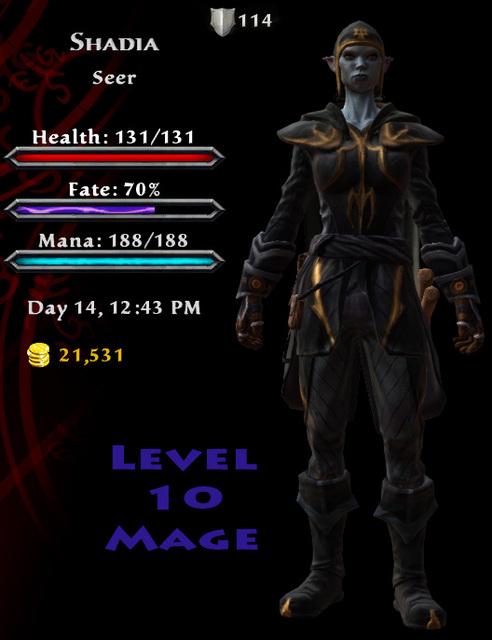 KoA - Shadia - Level 10