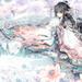 Anime Kimono Girl Wallpaper 1080p
