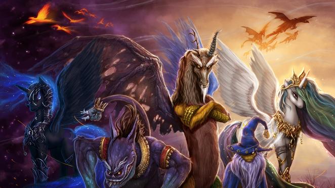 MLP - Legends of Equestria Wallpaper 1080p