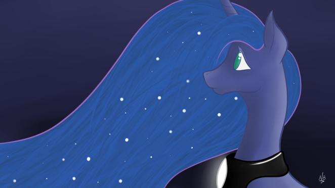 MLP - Luna Wallpaper 1080p