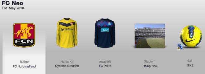 FIFA 12 Ultimate Team kits - 16/6/2012