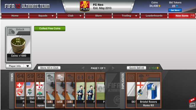 400 Coin Bronze Pack