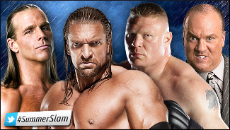 Summerslam 2012 - Triple H vs. Brock Lesnar