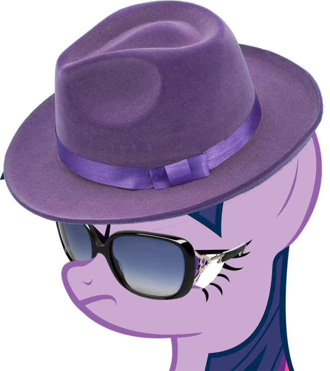 Twilight Sparkle - Sunglasses & Hat