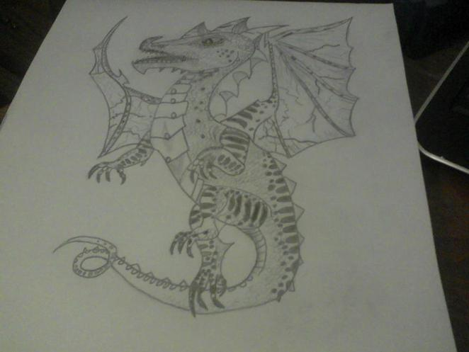 My other dragon!!!! 0: