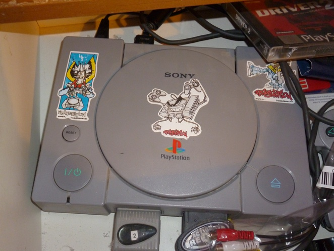 Tiffy's Old PS1 - Nostalgia!