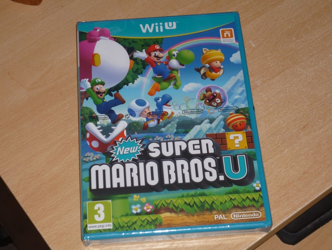 New Super Mario Bros. U Box Shot - Europe