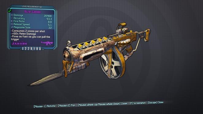 Razor Cannon
