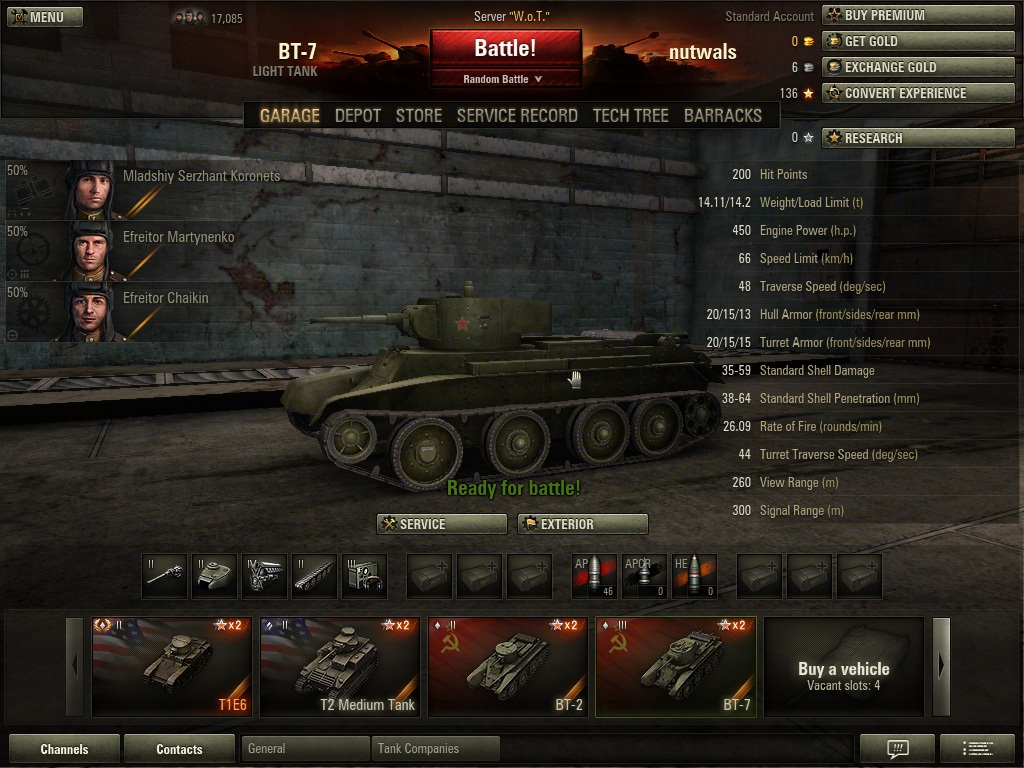 Tank Talk - World of Tanks Forum - Neoseeker Forums