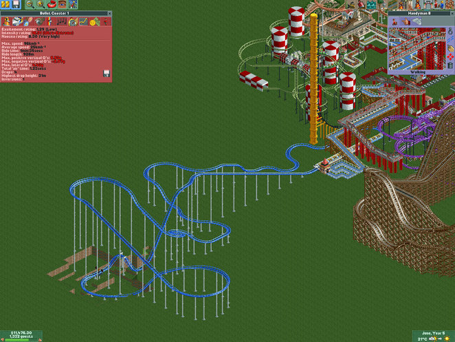 Ultra Extreme Roller Coaster