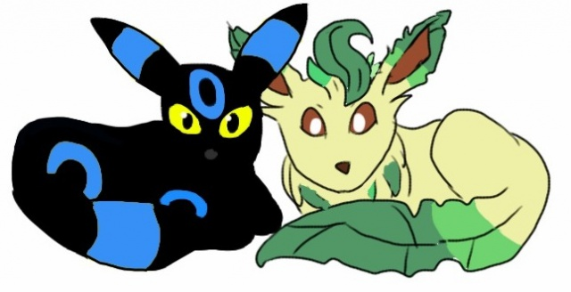 Shiny Umbreon & Leafeon! from Coconut - hosted by Neoseeker