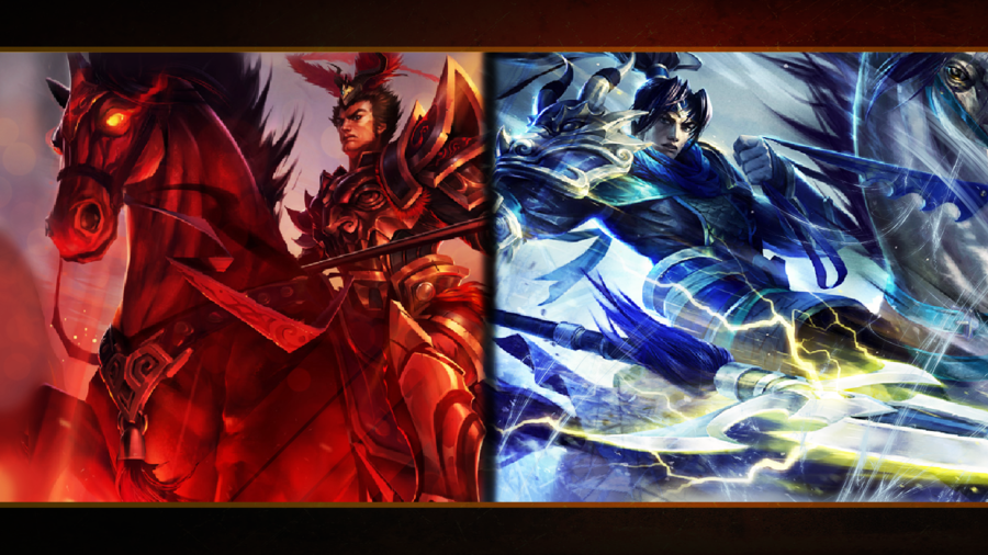 Warring Kingdoms Skins...