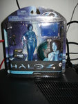 Cortana with a micro Master Chief