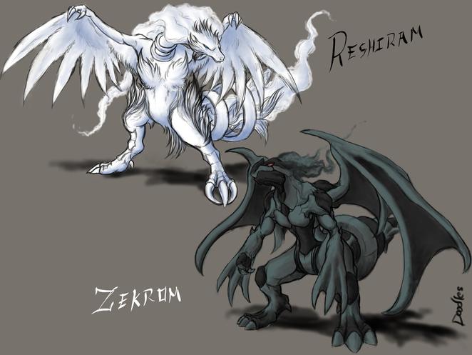 Reshiram and Zekrom