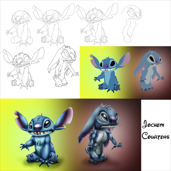 Stitch on Meth Progress