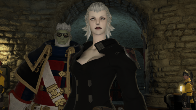 Merlwyb - Leader of Limsa Lominsa