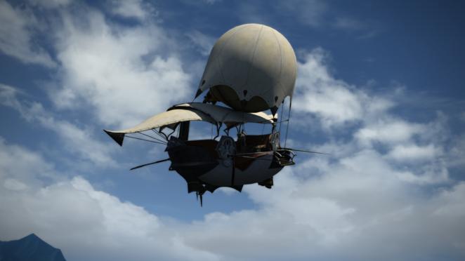 Airship to Gridania