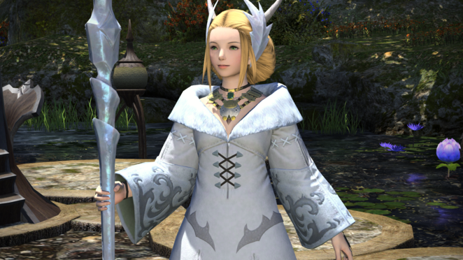 Kan-E Senna (Leader of Gridania)