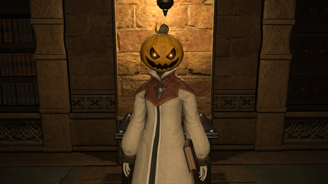 All Saints Day - Costume - Pumpkin Head
